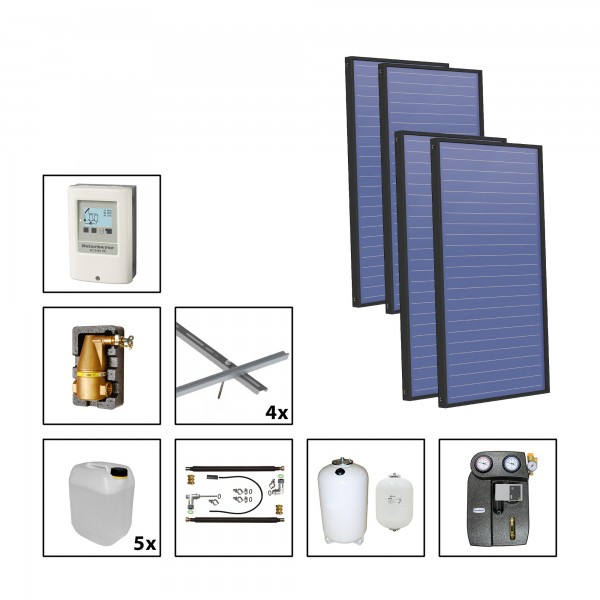 Solarbayer Plus AL Solarpaket 4 - Stock Fläche m2: Brutto 11,44 / Apertur 10,77