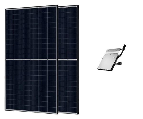 Trina Solar Balkonkraftwerk PV-Anlage 670 W inkl. Wechselrichter HM-600