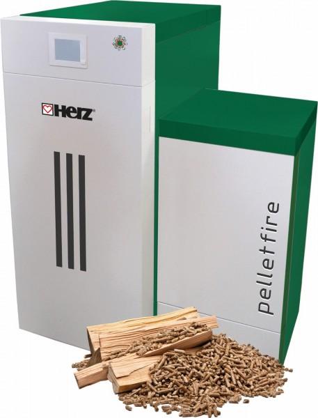 HERZ pelletfire 30/30, 40/30 für firestar De Luxe, Pelletsbrenner 30