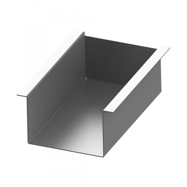 Stahlwanne für 25-40 E/LC für die Aufnahme von 8 Schamottsteinen