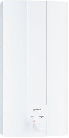 Junkers Bosch Durchlauferhitzer Tronic 1100 hydr. Übert. weiß Typ TR1100 21 B 21 kW