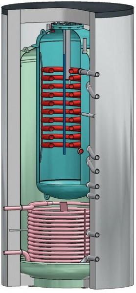 INTERDOMO Tank in Tank Speicher 1000 180 914 Liter