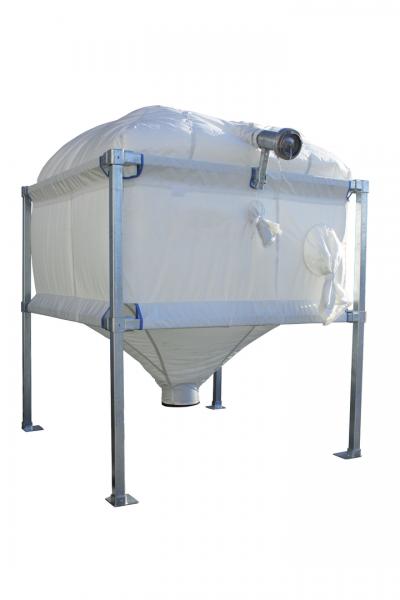 Pelletspeicher ENVIRON SILO 34 - max. Kapazität 3,4 t