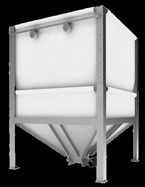 ETAbox 29 Speed Pelletssilo 2900x2900mm Hoehe variabel 1900-2500 mm 5,5-8,8 to